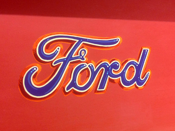 Ford Embossed Logo